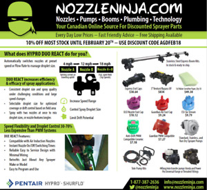 Sprayer Nozzles & Parts Discount Prices Fast shipping in Canada