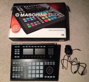 Native Instruments Maschine Studio. Comes with software.