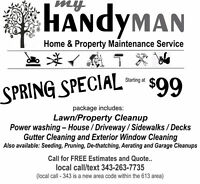 My HandyMan Services Quinte - Home, Lawn & Property Maitenance