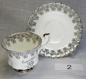 For Sale. Vintage Bone China Cups and Saucers 1
