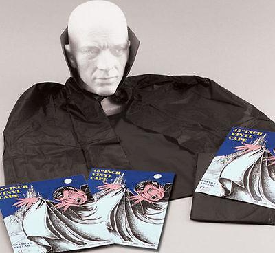 Boys Girls Adult Vampire Dracula Black Cape Cloke Halloween Fancy Dress Costume](Boys Vampire Cape)