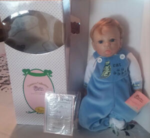 Paradise Gallery Porcelain Baby Boy Doll (Josh)