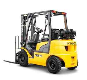 New Forklift - Fish Plant / Lobster Special
