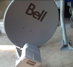Brand new bell satellite dish with dp plus