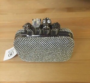 Skull Knuckle Clutch- Brand New!