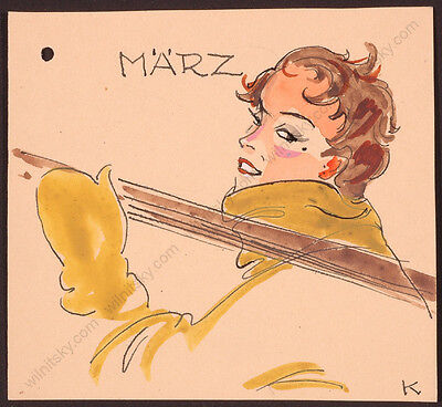 "Gret Kalous-Scheffer, ""Four Months"", Fashion Designs, 1960s"