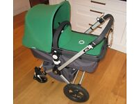Bugaboo Cameleon Travel System Pram Pushchair and Carry Cot. Very Great Condition