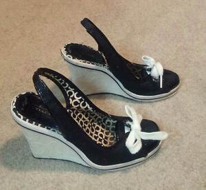 Coach Wedges (Size 6.5)