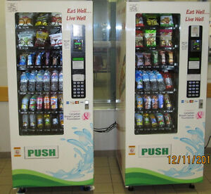 for sale vending machine business