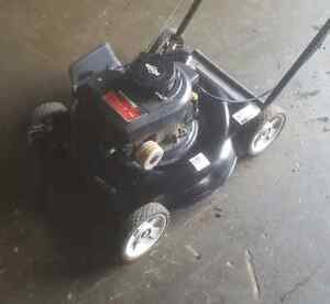 Recently tuned up lawnmower