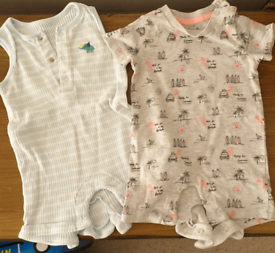 0-3 months rompers