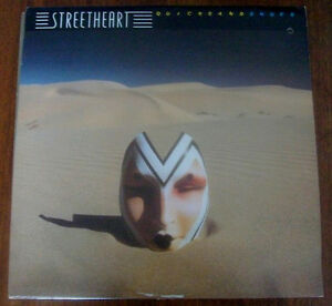 STREETHEART Vinyl LP 1980 Quicksand Shoes *Their 3rd* PROMO Copy