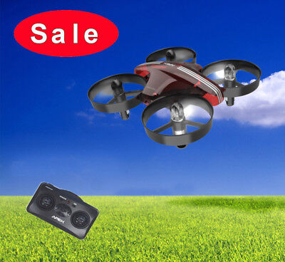 Mini RC Quadcopter 2.4G 4CH Gyro Pocket RC Drone Hover Aircraft Remote Control