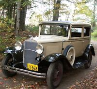 1931 Chevrolet Coach  Complete Body Off Restoration