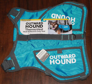 New Outward Hound ThermoVest Size XL