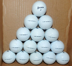 One dozen Srixon Z-Star / Q-Star golf balls