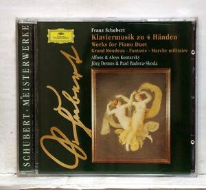 ALFONS & ALOYS KONTARSKY - SCHUBERT works for piano duets DGG CD NM - France - État : Comme neuf : Objet semblant avoir été retiré de son film plastique récemment. Aucune marque d'usure apparente. Toutes les faces de l'objet sont impeccables et intactes. Consulter l'annonce du vendeur pour avoir plus de détails et voi - France