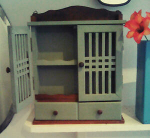 Small Vintage Storage Unit - CAN DELIVER WITHIN TORONTO