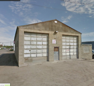 1 Spots Available - Heated Commercial Truck Garage