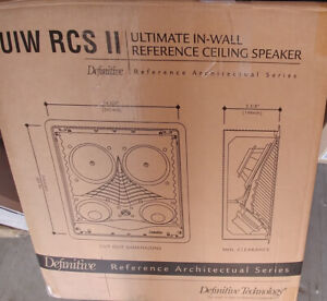"""In-Ceiling Speakers - Definitive Technology UIW-RCSII 5.25"""""""