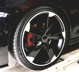 """Audi RS4 replica wheels and tires  19"""""""