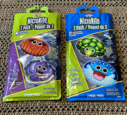 microkite mini mylar kites two in pack