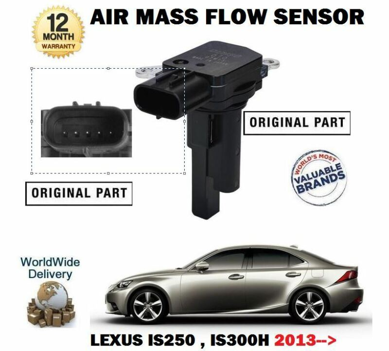 FOR LEXUS IS250 IS300H HYBRID 2013--> NEW ORIGINAL AIR MASS FLOW SENSOR