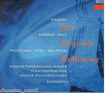 Wagner: Der Fliegende Holländer/Dohnányi, Behrens, Hale - CD Decca