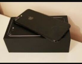 iPhone 7 Plus jet black unlocked ( brand new )