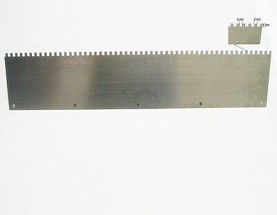 Zahnleisten 3-10 mm/ 64 cm Ersatzblätter Ersatzschienen Federbandstahl