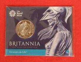 £50 Silver Britannia Bullion coin .999 Silver Uncirculated in RM Sealed Card pack.