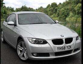 BMW 320D Coupe 177 BHP 58 Reg 12 Months MOT