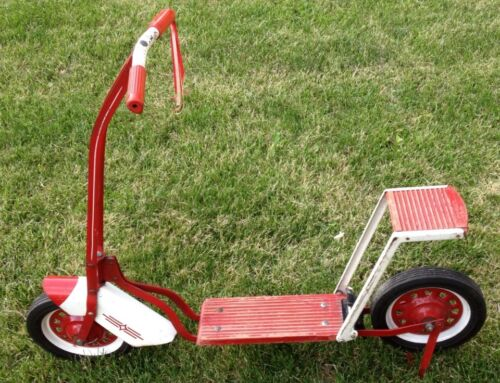 vintage push scooters