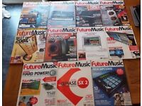 Future Music Magazine 11 x Issue Bundle 2003 - 2004