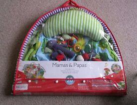 Mamas & Papas Jungle Playmat with Toys