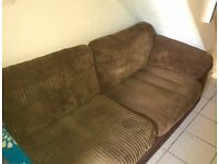 2 seater sofa free to collector in great condition.