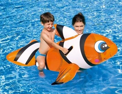 Inflatable Pool clown fish - Inflatable Clown Fish