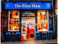 Full & part time staff needed at The Blue Man - evenings & weekends