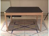 Scandinavian design dining table 2 sides