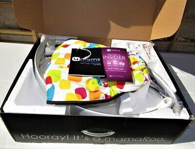 Multi-Color Plush 4moms, mamaRoo, Baby Swing, NEW IN OPEN RETAIL BOX