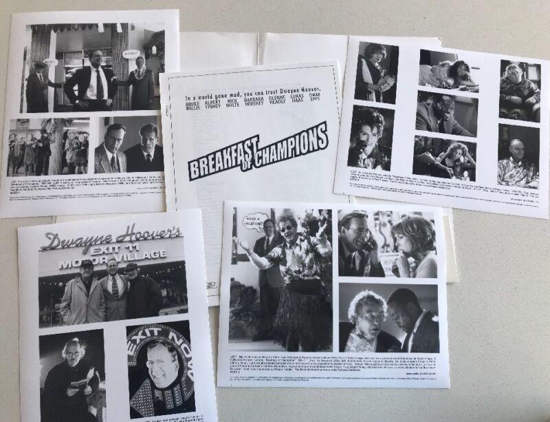 Breakfast Of Champions - Print  Press Kit NEW