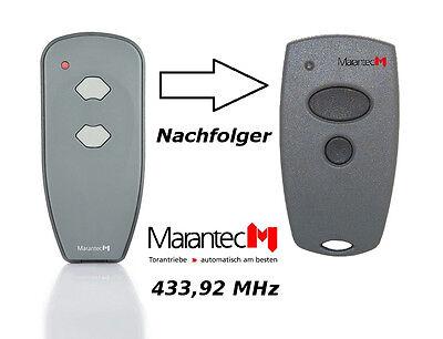 Marantec Digital 302 Handsender 382 mit 433 MHz Funksender Funk Tor Teckentrup