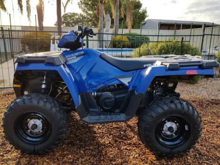 Polaris Hawkeye Quad Bike Laura Northern Areas Preview