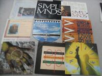 A SMALL NUMBER OF SIMPLE MINDS SINGLES. NO REASONABLE OFFER REFUSED.