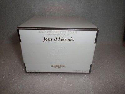 HERMES JOUR D'HERMES PERFUMED BODY CREAM 6.5oz / 200ml NEW SEALED  IN (Hermes Perfumed Body Cream)