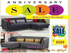 New Direction Home Furnishings Anniversary Sale is On Now! Shop Today & Save More!