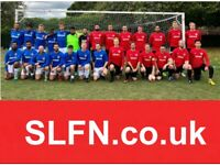 Looking for new players, looking for a new football team. Play 11 aside football. 2GV2