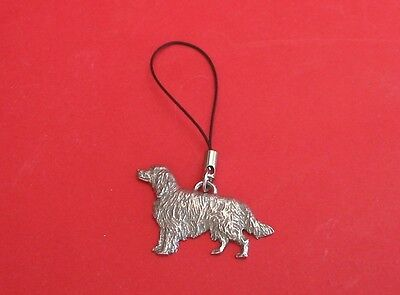 Irish Setter Pewter Mobile Phone USB Stick Charm NEW Mother Father Xmas Gift