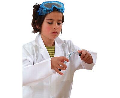 Laborkittel für Kinder – Kittel für Chemie- und Biologie, Gr. 128