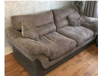 DFS Leyburn sofa 3 & 2 seater with cushions